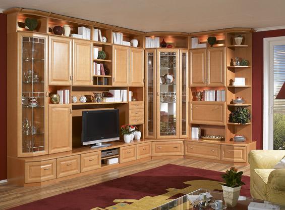 wohnzimmer m bel mit wohlf hlcharakter. Black Bedroom Furniture Sets. Home Design Ideas